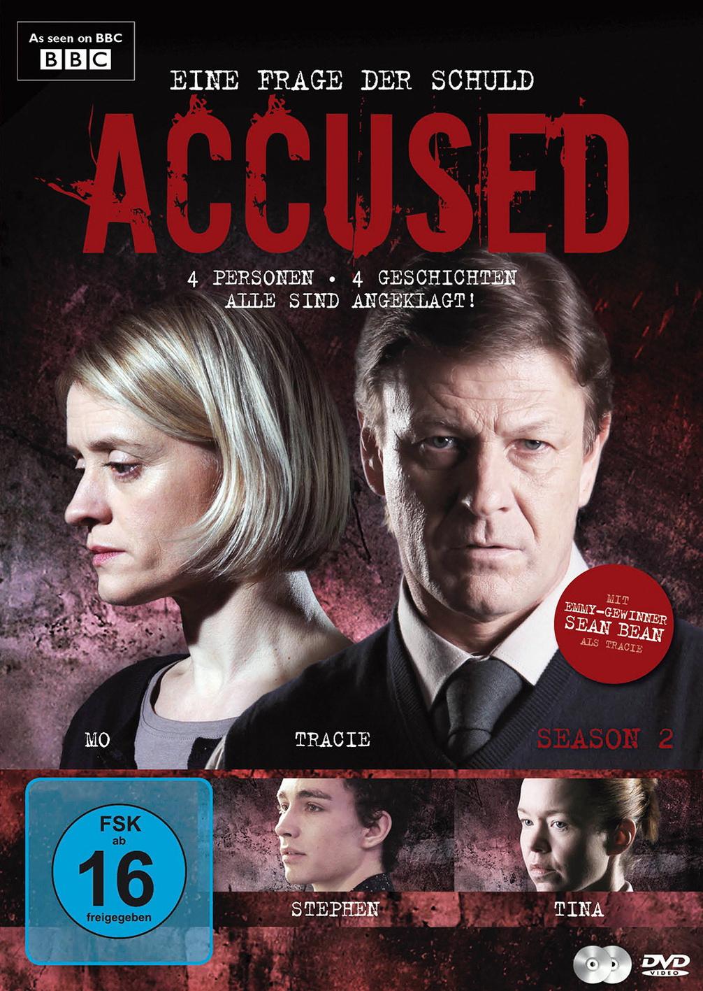 Accused: Eine Frage der Schuld - Season 2 [2 DVDs]