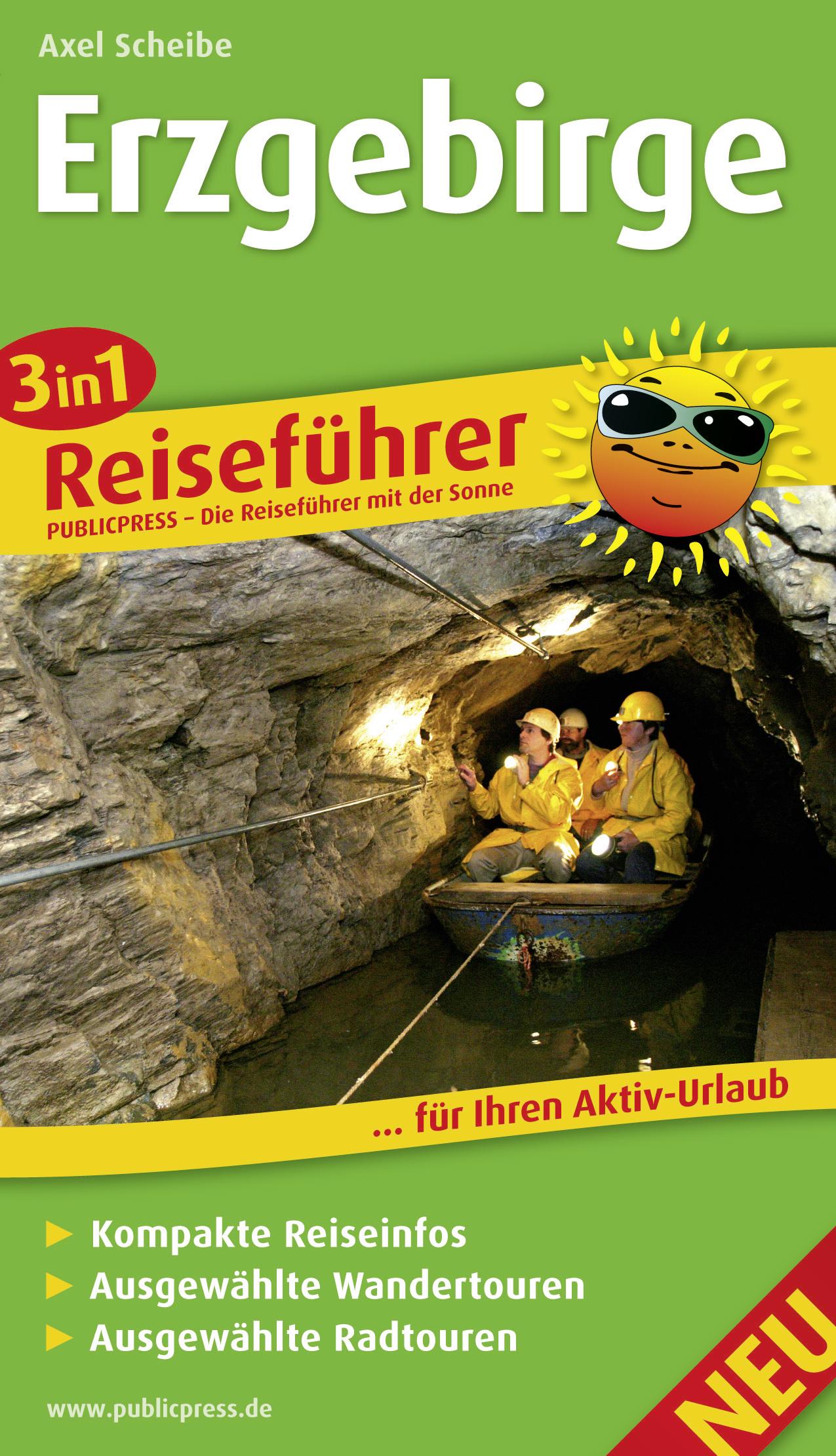 3in1-Reiseführer Erzgebirge: Für Ihren Aktiv-Ur...