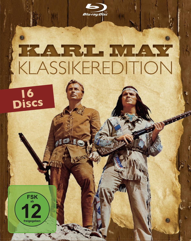 Karl May: Die grössten Abenteuerfilme der Deutschen Filmgeschichte [16 Discs, Klassikeredition]