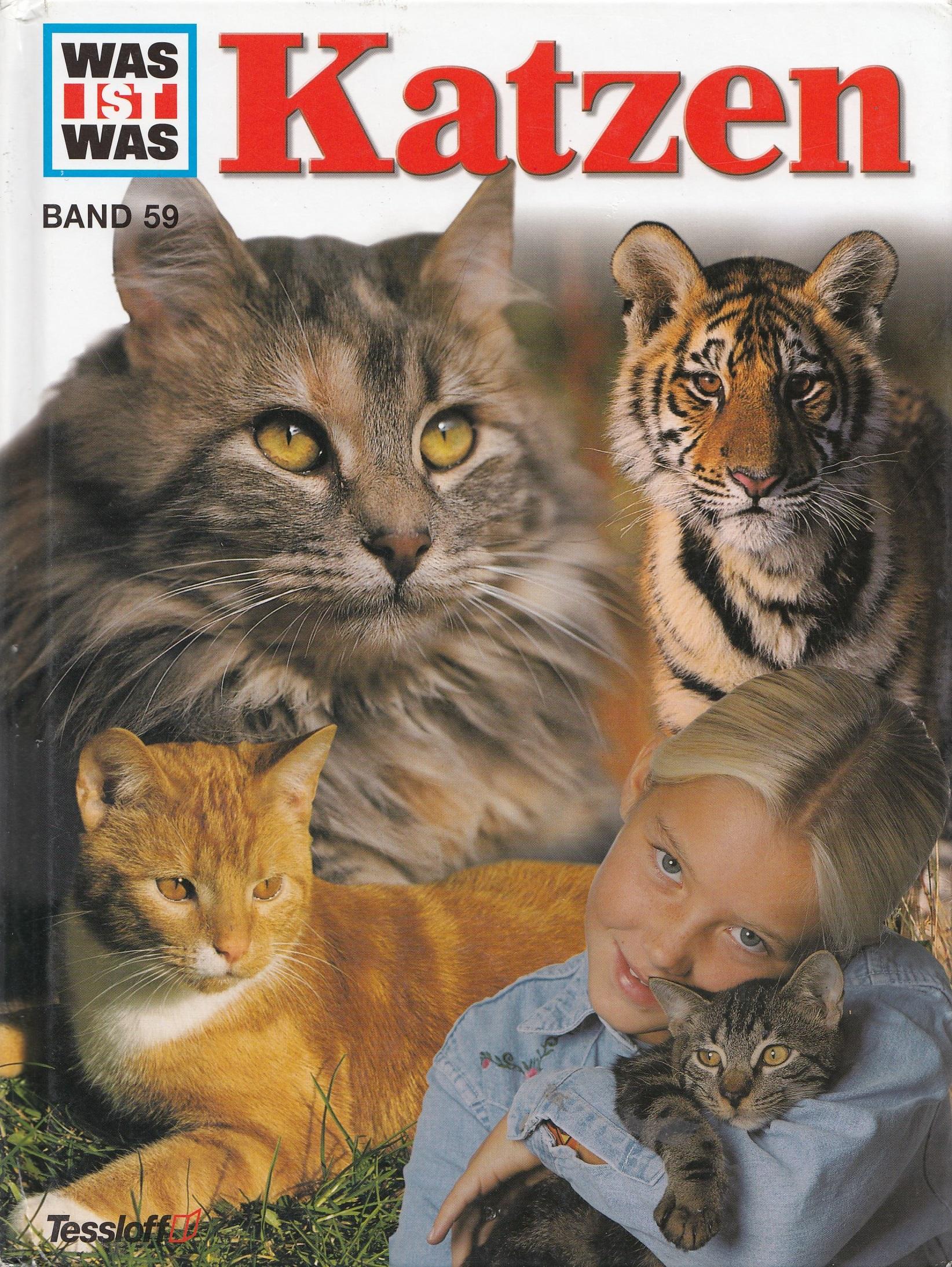 Was ist Was: Band 59 - Katzen [Gebundene Ausgabe]