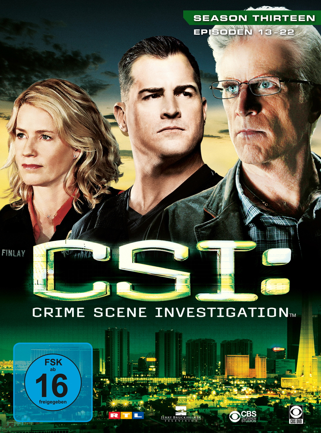 CSI: Crime Scene Investigation - Season 13.2 [3 DVDs]