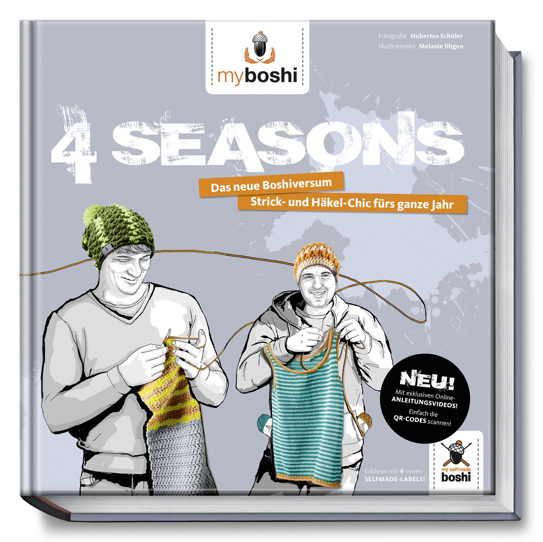 myboshi - 4 Seasons: Das neue Boshiversum - Str...