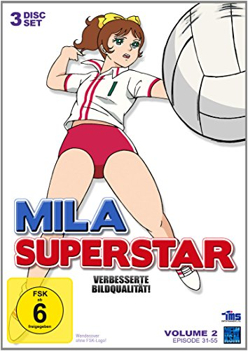 Mila Superstar - Volume 2, Folge 31-55 [3 DVDs]