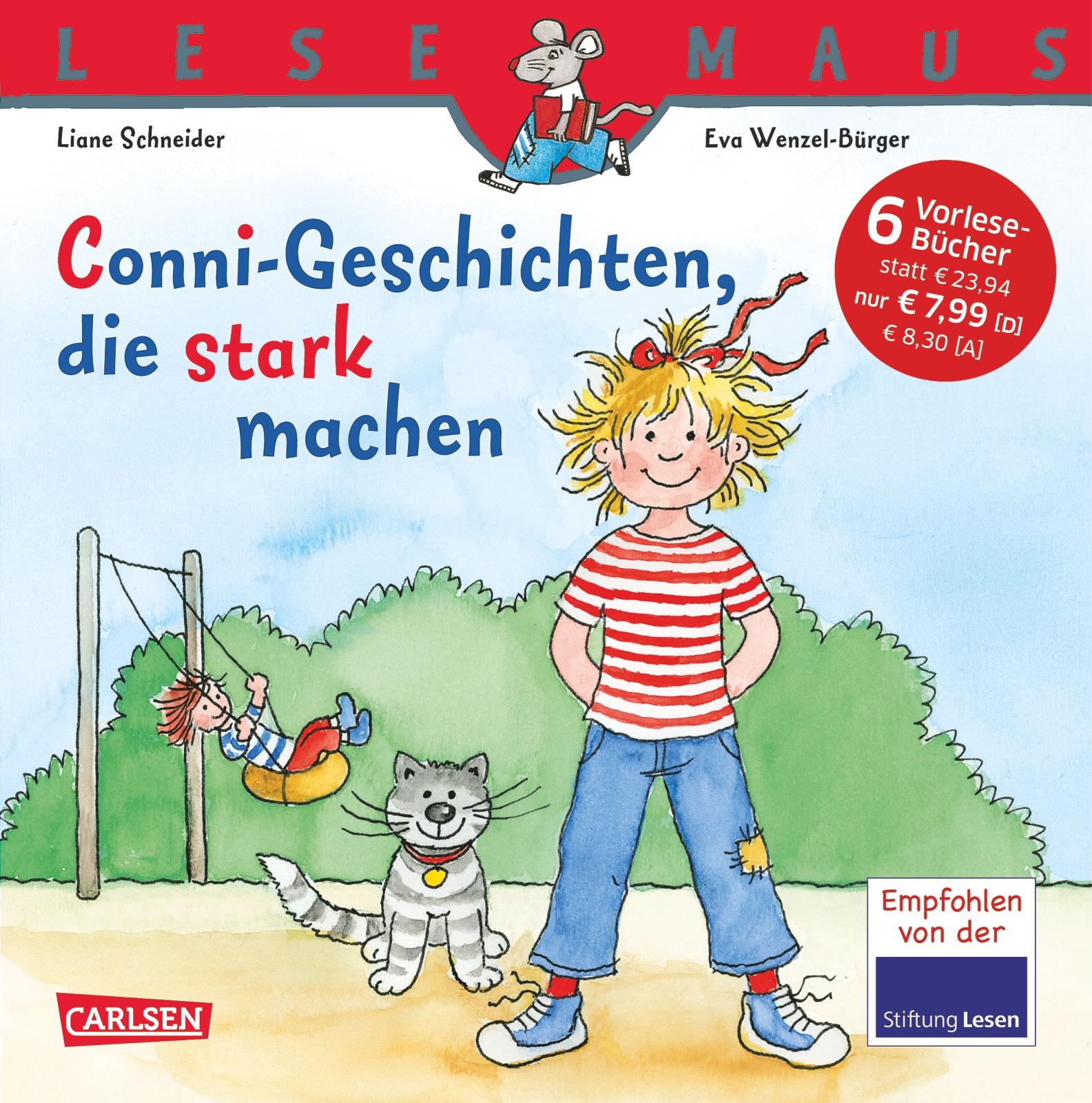 Lesemaus Sonderbände: Conni-Geschichten, die stark machen - Liane Schneider [Sechs Vorlesegeschichten in einem Band]