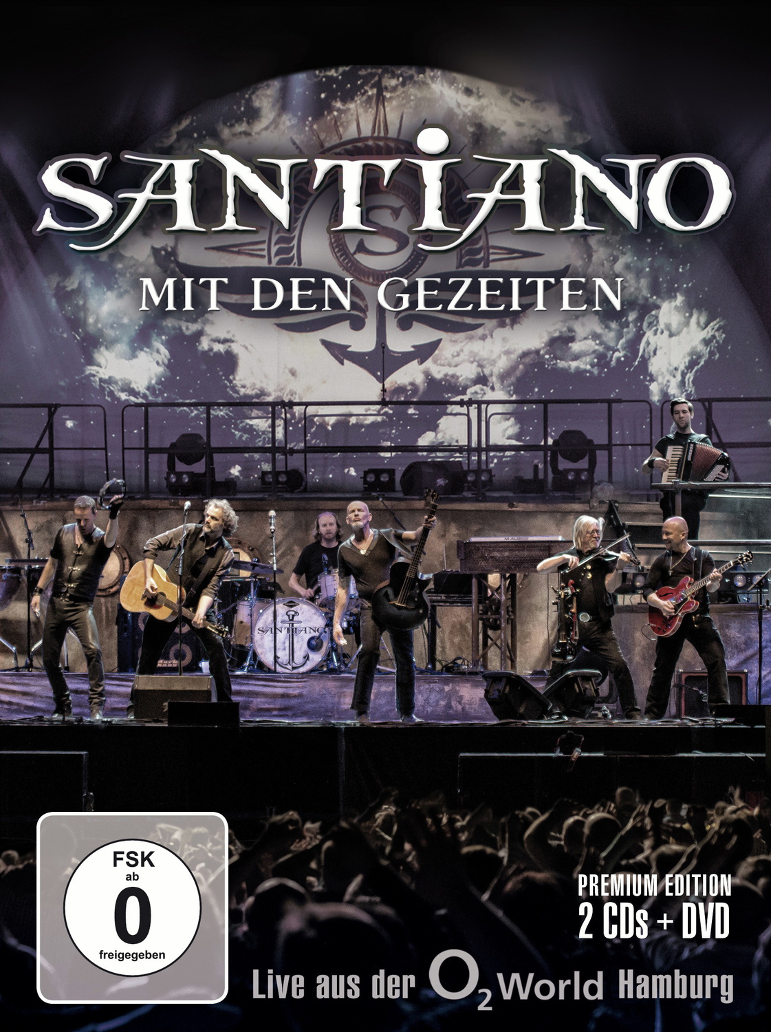 Santiano - Mit den Gezeiten - Live aus der o2 World Hamburg (Limited CD+DVD Edition)