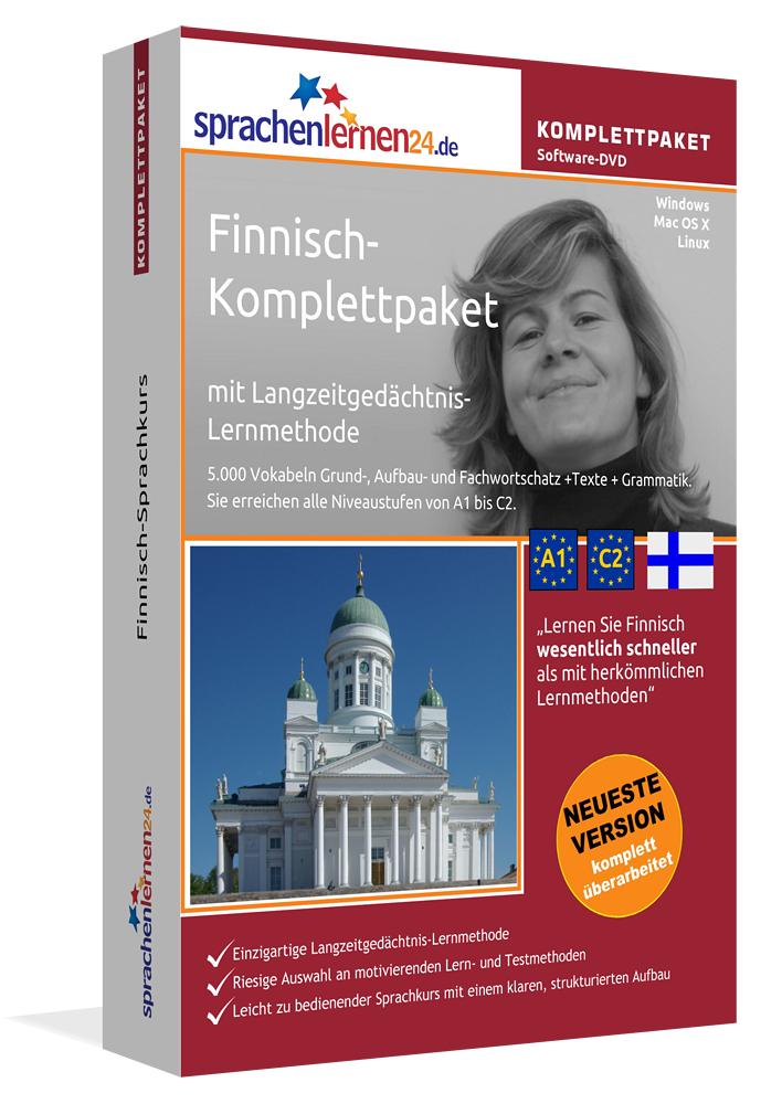 Finnisch-Komplettpaket mit Langzeitgedächtnis-L...