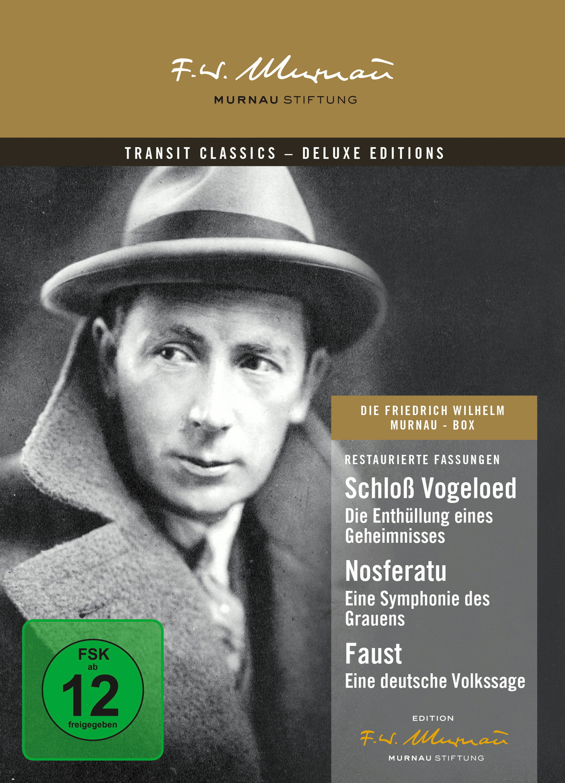 Die F. W. Murnau-Box [Deluxe Edition, 3 DVDs]