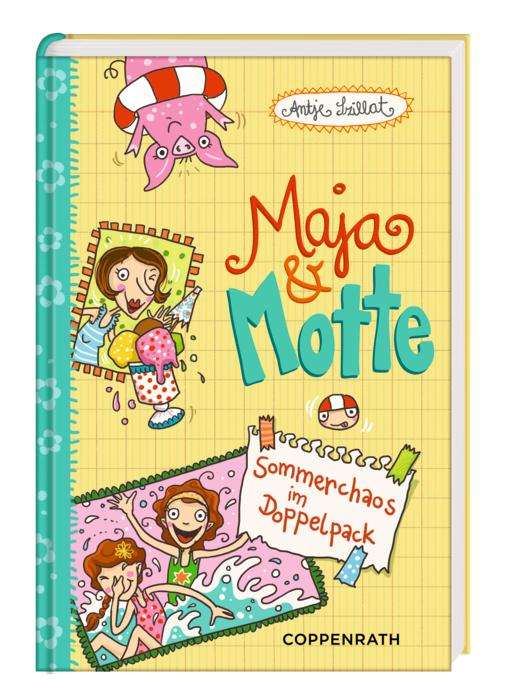 Maja & Motte: Sommerchaos im Doppelpack - Szill...