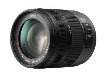 Panasonic Lumix G VARIO 14 mm - 140 mm F 4.0-5.8 HD 62 mm Filtergewinde (Micro Four Thirds Anschluss) schwarz