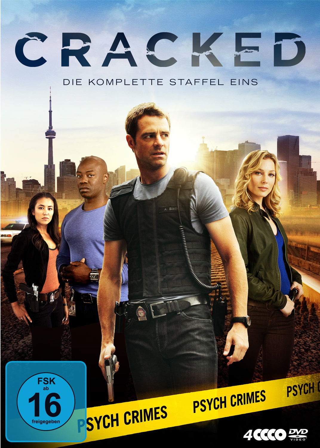 Cracked - Die komplette Staffel 1 [4 DVDs]