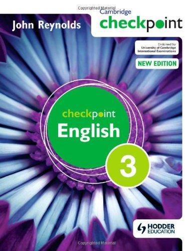 Cambridge Checkpoint English. Student´s Book 3 ...