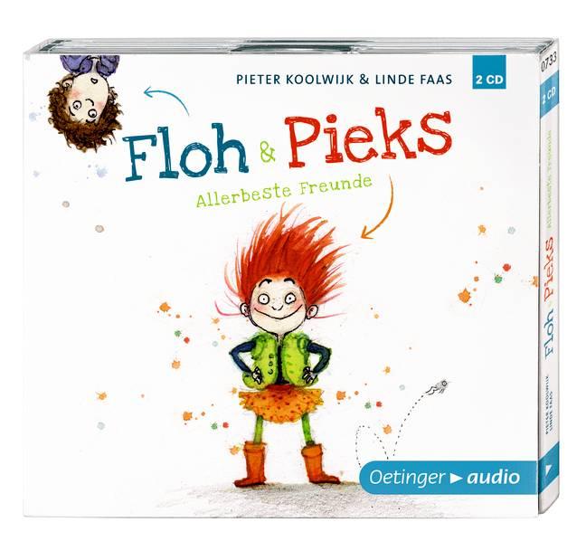 Floh & Pieks. Allerbeste Freunde (2 CD): Ungekürzte Lesung, ca. 120 Min. - Koolwijk, Pieter