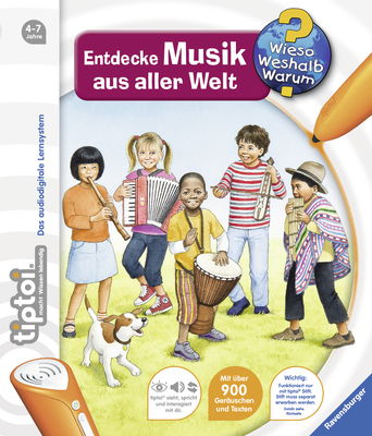 tiptoi® Wieso? Weshalb? Warum? 16: tiptoi® Entdecke Musik aus aller Welt - Friese, Inka
