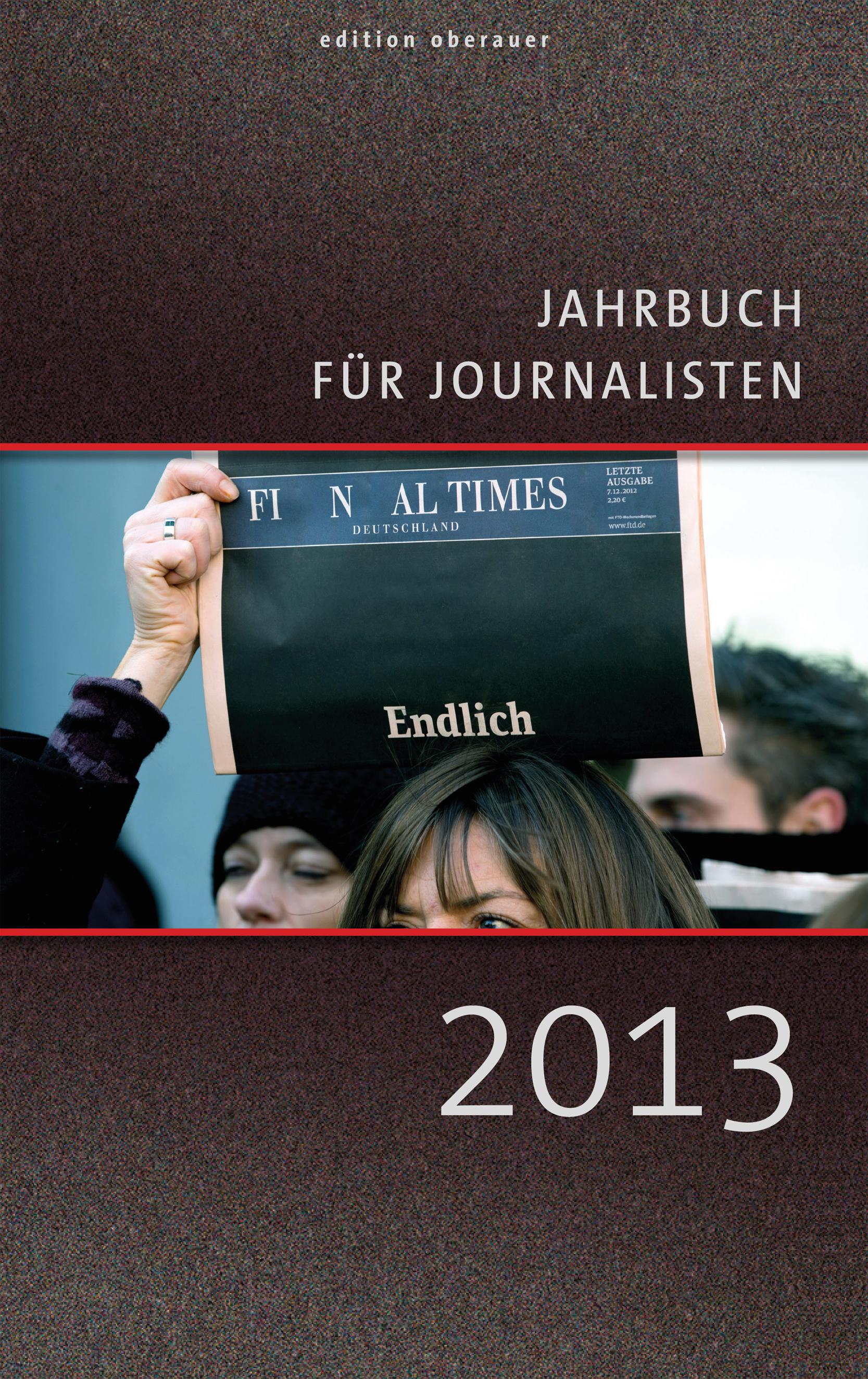 Jahrbuch für Journalisten 2013