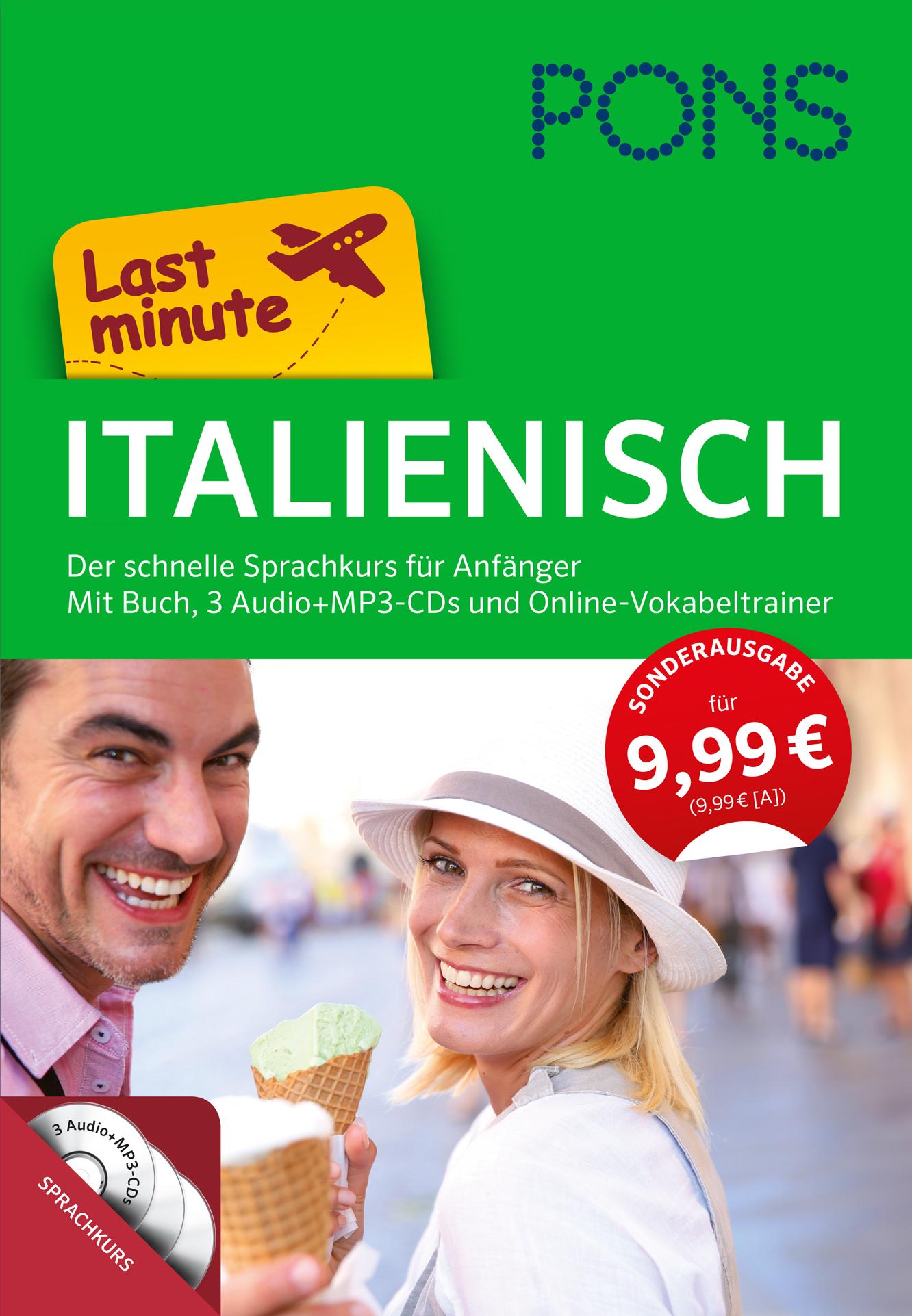 PONS Last minute Sprachkurs Italienisch: Der sc...