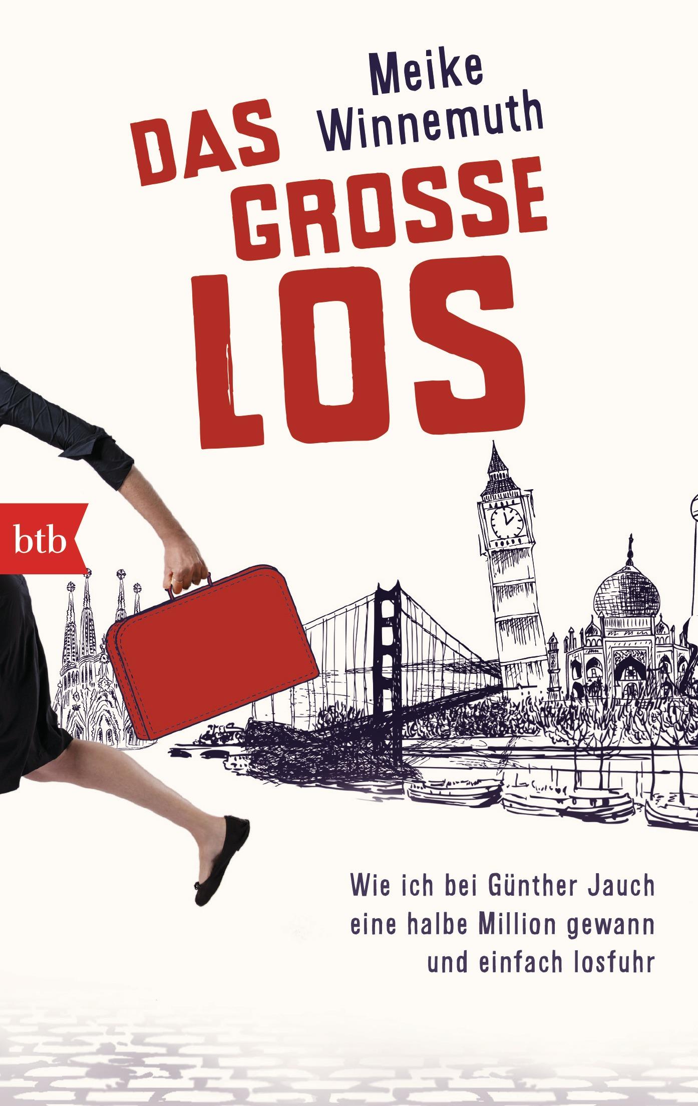 Das große Los: Wie ich bei Günther Jauch eine halbe Million gewann und einfach losfuhr - Meike Winnemuth