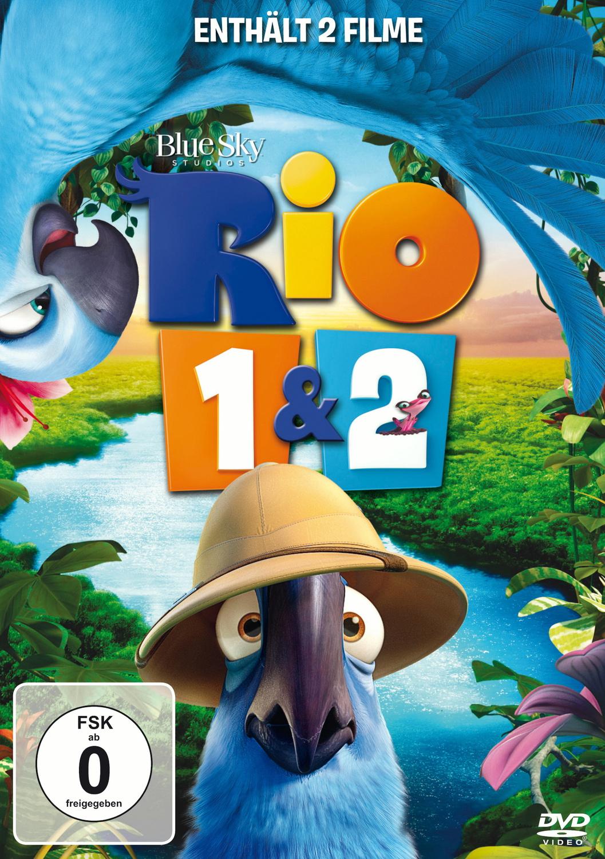 Rio 1 & 2 [2 DVDs]