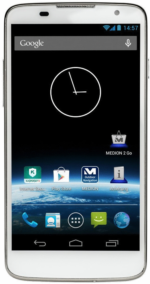 Medion Life P5001 4GB weiß