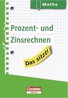 Das sitzt! Mathe. Prozent- und Zinsrechnen: Heft im Hosentaschenformat - Kreusch, Jochen