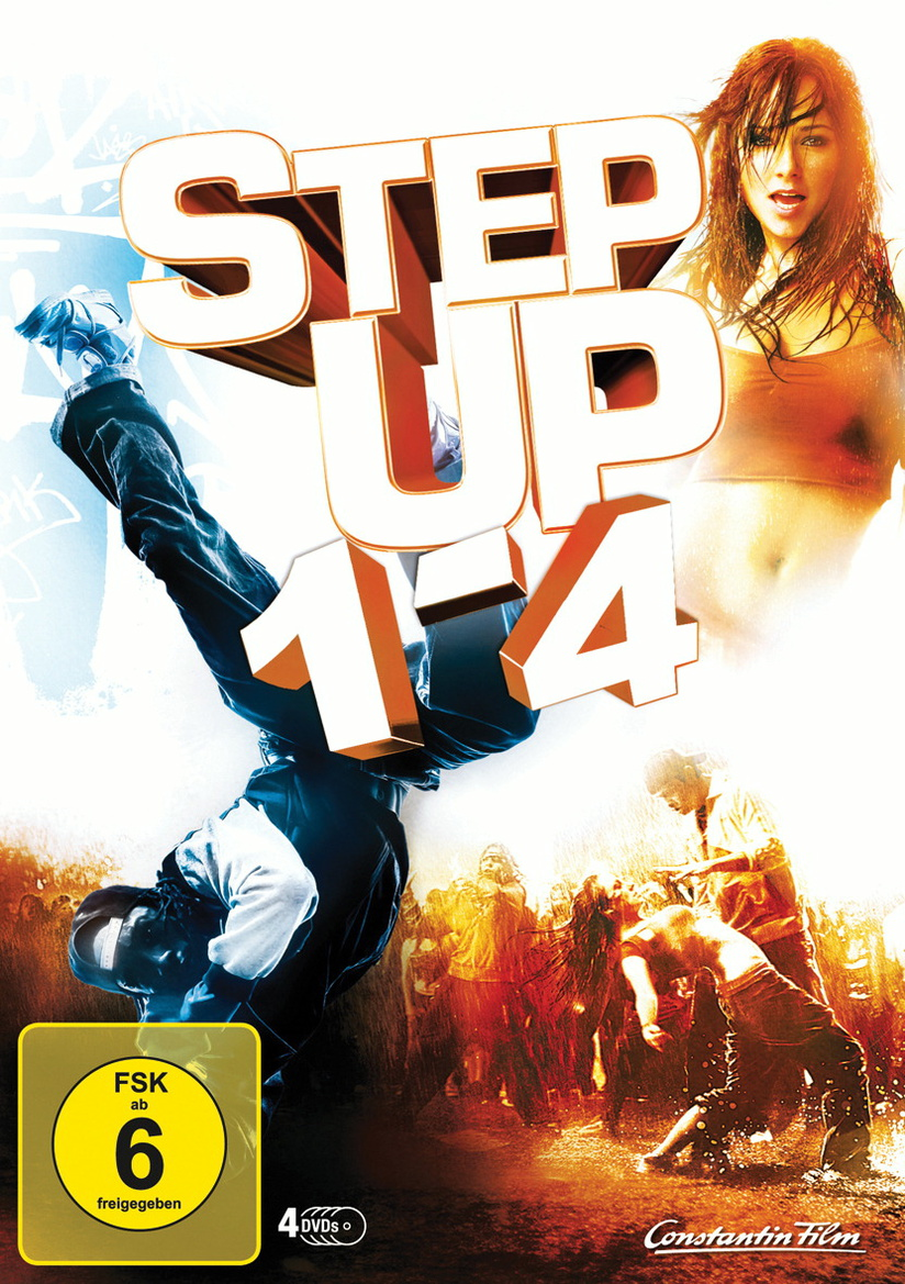 Step Up 1 - 4 [4 DVDs]
