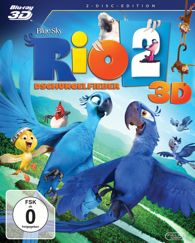 Rio 2 - Dschungelfieber 3D [2 Discs, inkl. 2D Version]
