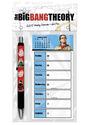 The Big Bang Theory - Weekly Calendar + Gel Pen