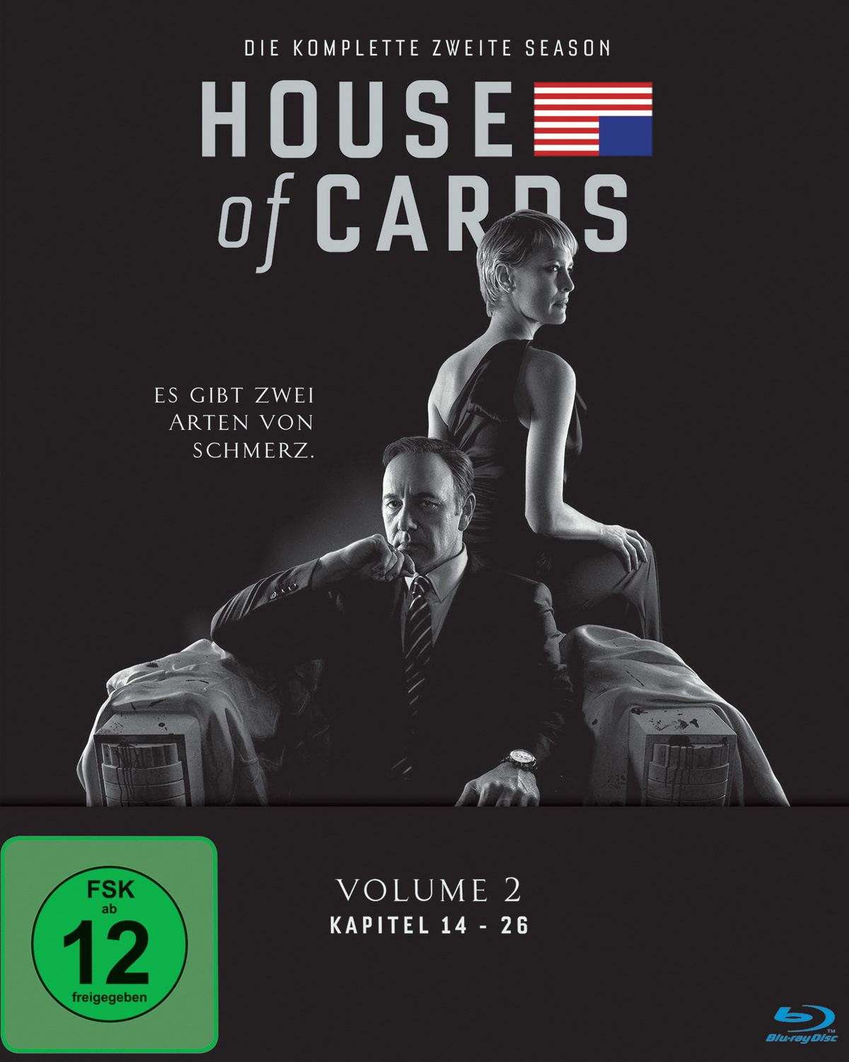 House of Cards - Die komplette zweite Season [4 Discs]