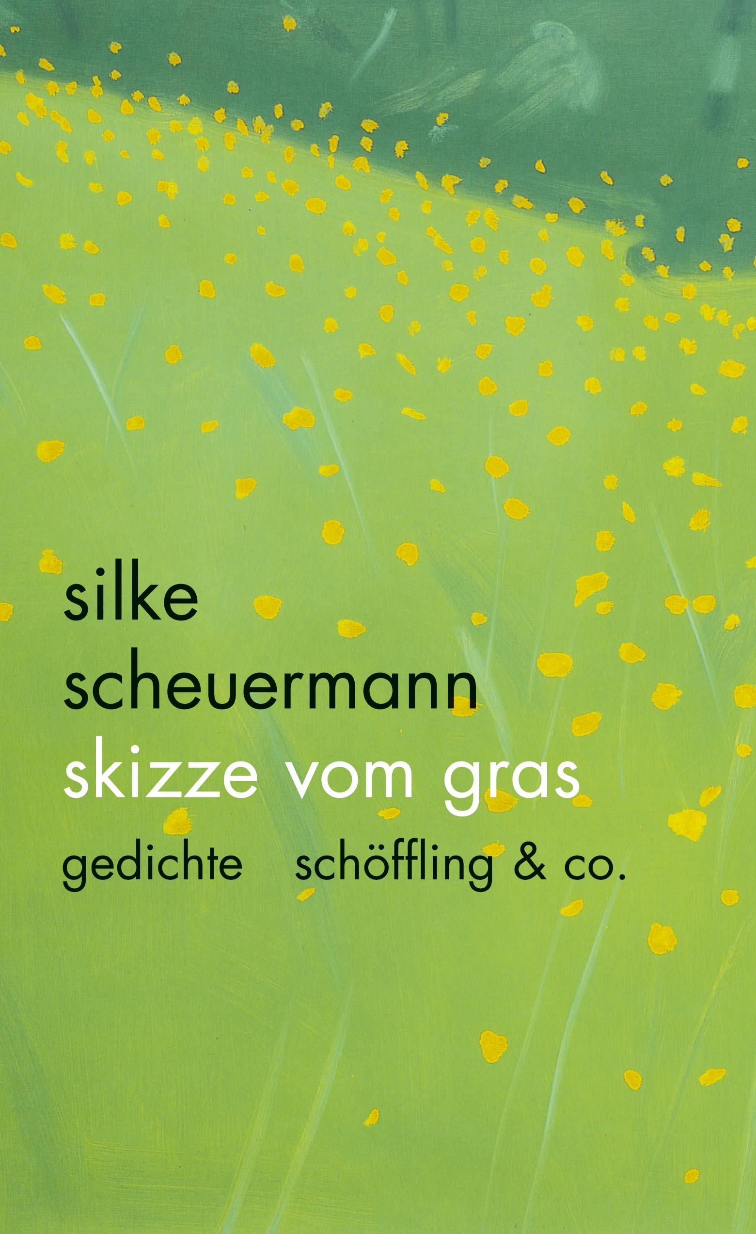 Skizze vom Gras: Gedichte - Silke Scheuermann