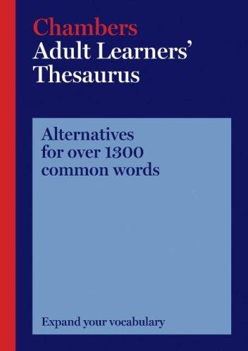 Chambers Adult Learners´ Thesaurus