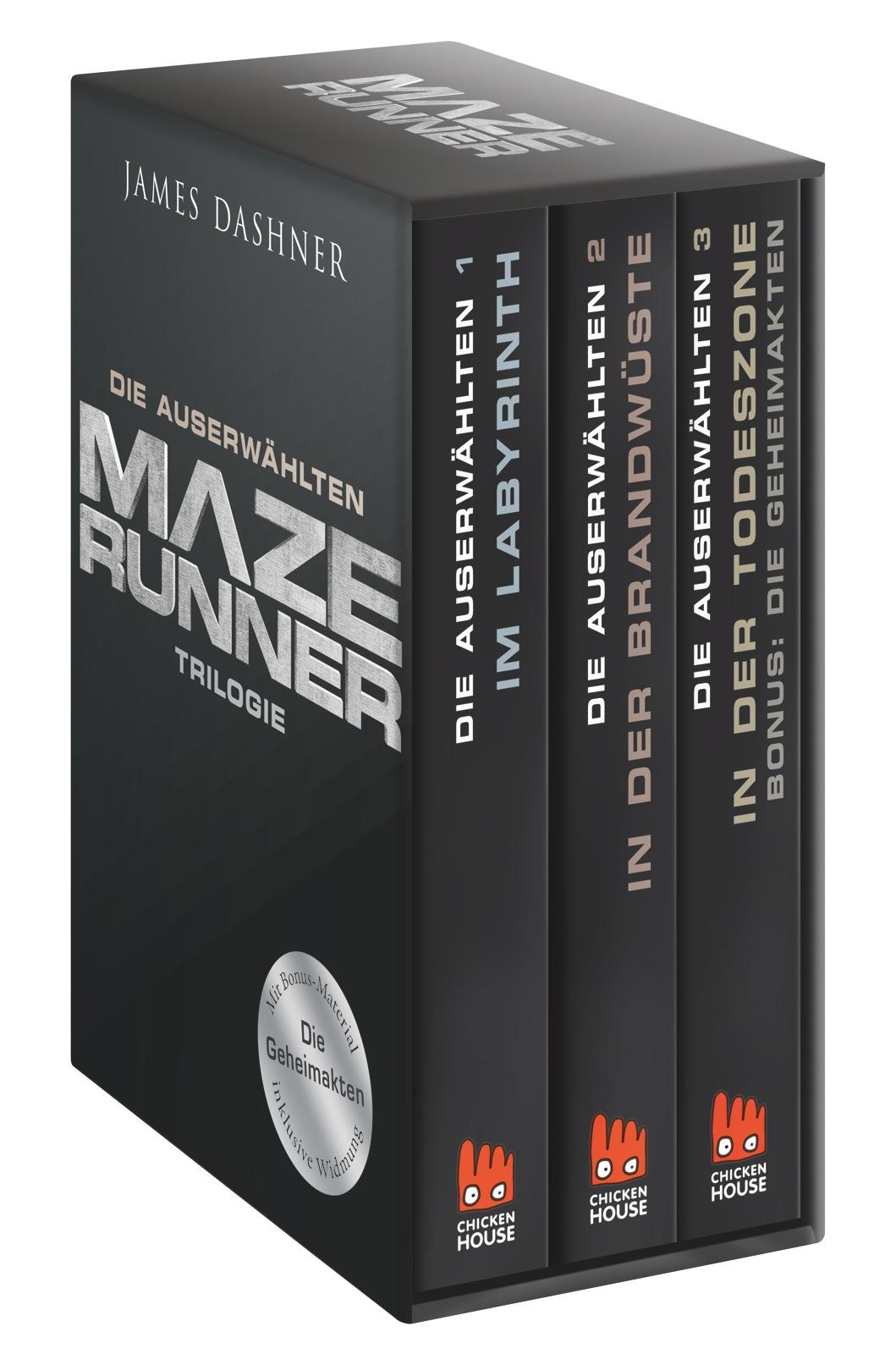 Maze Runner-Trilogie: Die Auserwählten - James Dashner [3 Bände]