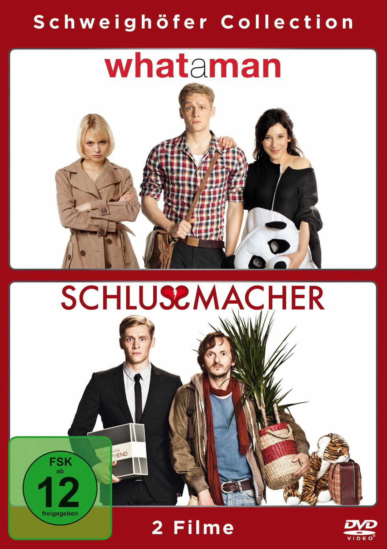 What a Man / Schlussmacher - Liebe ist nichts für Feiglinge [2 DVDs]