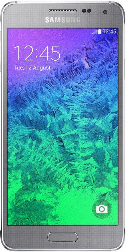 Samsung G850 Galaxy Alpha 32GB sleek silver
