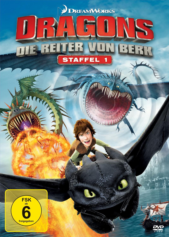 Dragons - Die Reiter von Berk, Vol. 1-4 [4 DVDs]