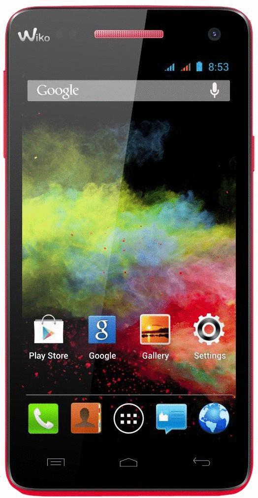 Wiko Rainbow 4GB coral