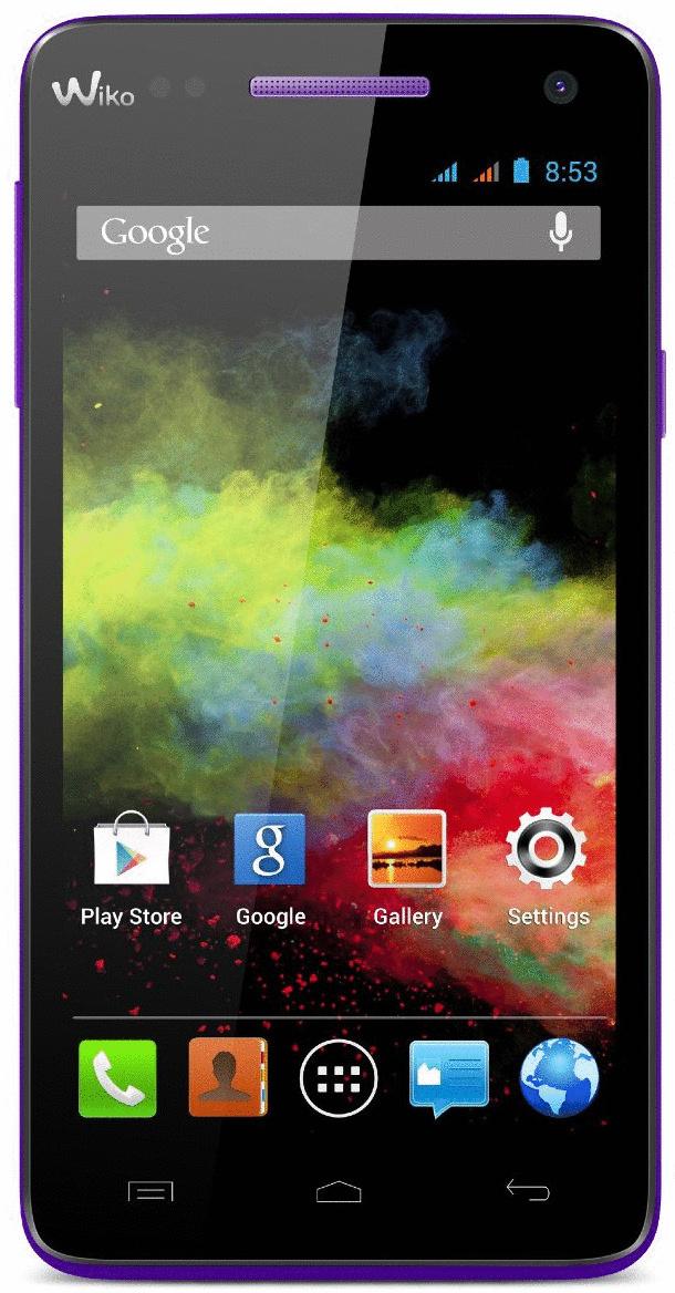 Wiko Rainbow 4GB violett
