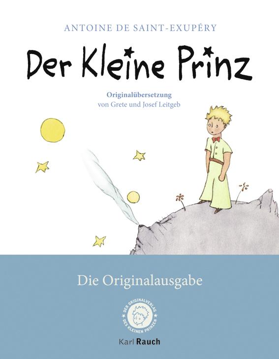 Der Kleine Prinz: Die Originalausgabe - Antoine de Saint -Exupèry [Taschenbuch]
