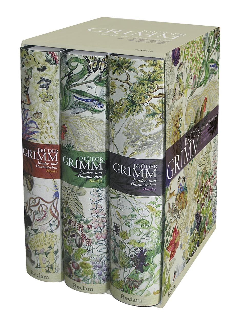 Kinder- und Hausmärchen - Brüder Grimm [3 Bände, Gebundene Ausgabe]
