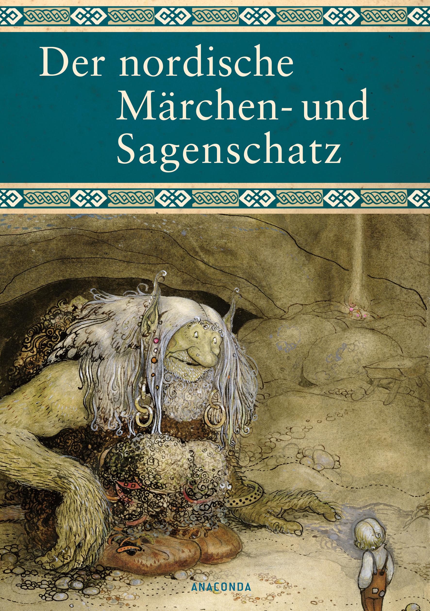 Der nordische Märchen- und Sagenschatz - Erich Ackermann [Gebundene Ausgabe]