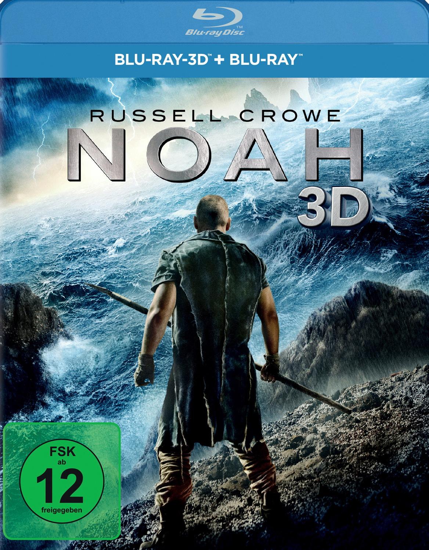 Noah 3D [inkl. 2D Version, 2 Discs]
