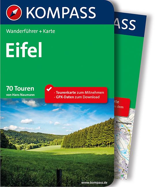 Eifel: Wanderführer mit Tourenkarte im Maßstab ...