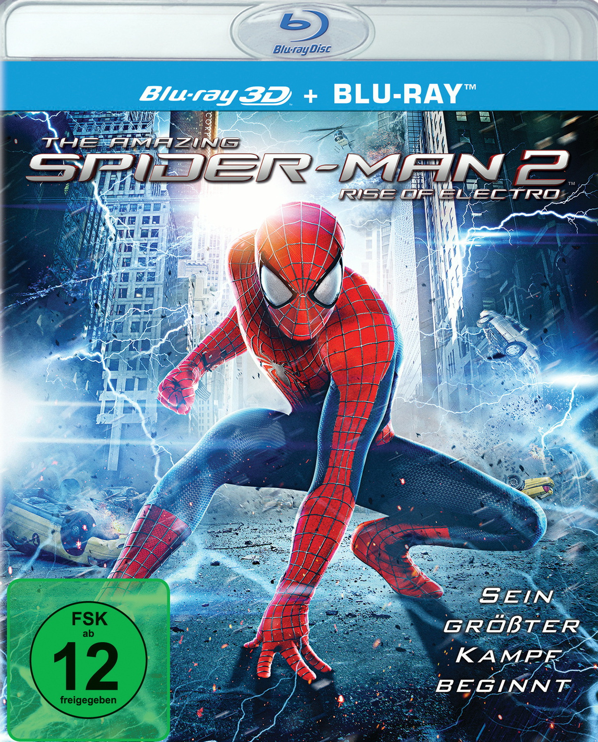 The Amazing Spider-Man 2: Rise of Electro 3D [inkl. 2D Version, 2 Discs]