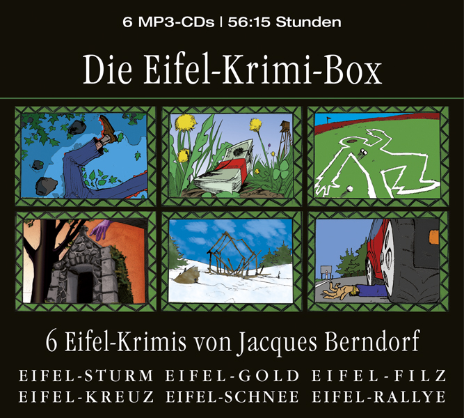 Die Eifel-Krimi-Box - Jacques Berndorf [6 Audio CDs]