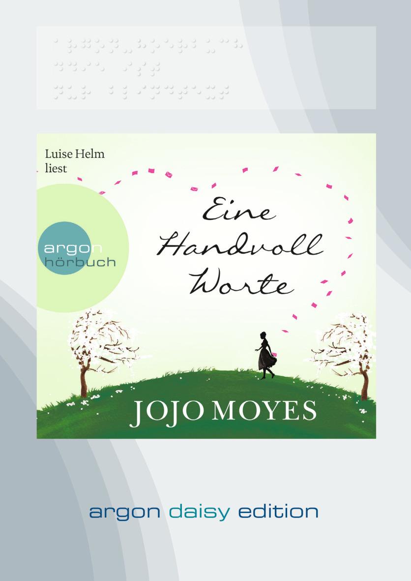 Eine Handvoll Worte - Jojo Moyes [Daisy Edition]