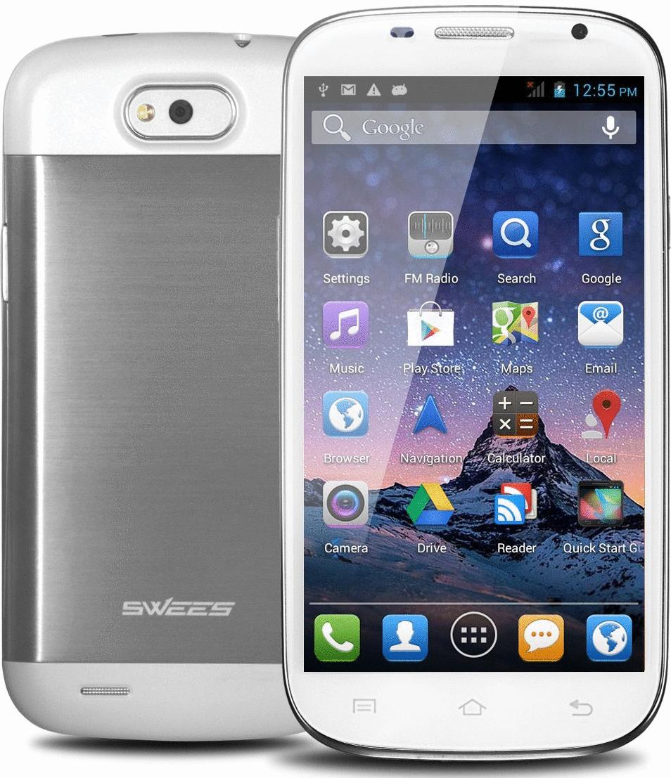Swees Smartphone 4GB weiß