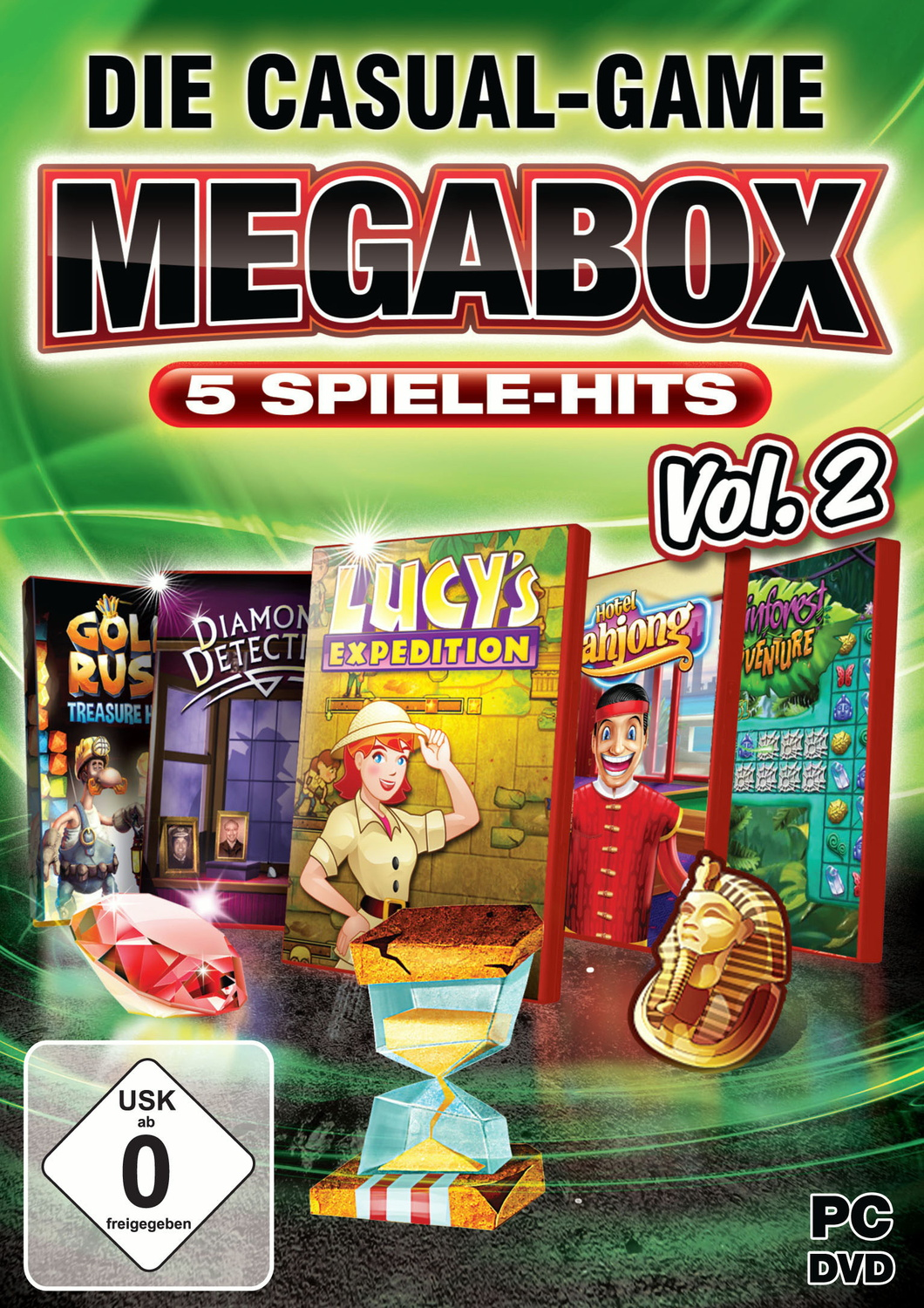 Die Casual-Game MegaBox Vol. 2 (PC)