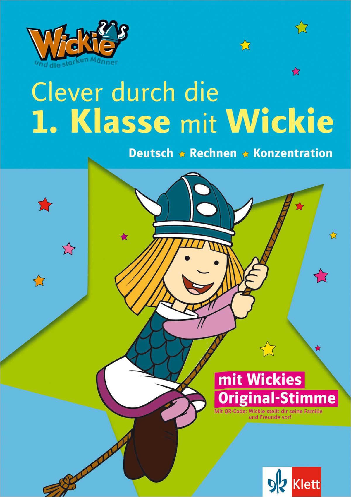 Clever durch die 1. Klasse mit Wickie: Deutsch,...