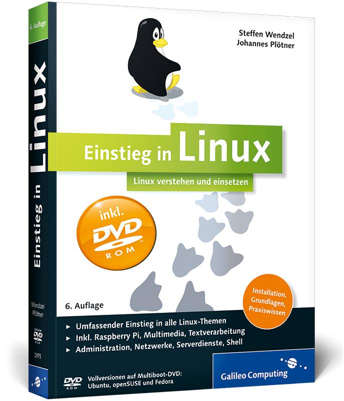 Einstieg in Linux: Linux verstehen und einsetze...