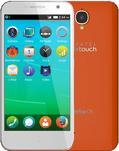 Alcatel 6015X One Touch Fire E 4GB mozilla orange