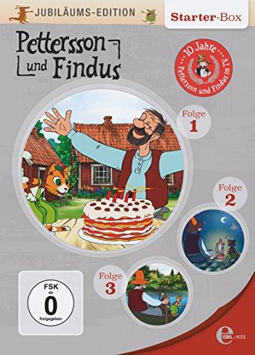 Pettersson und Findus - Jubiläums-Edition Folgen 1-3 [3 DVDs] - Sven Nordqvist