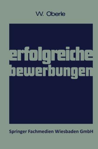 Erfolgreiche Bewerbungen - Oberle, Wilhelm